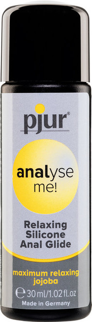 SILICONE LUBRICANT RELAXING ANAL PJUR ANALYSE ME 30 ML