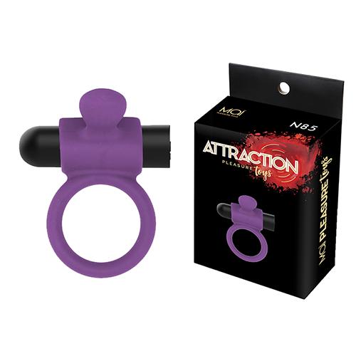 VIBRATING RING RECHARGEABLE MAI Nº85 Purple