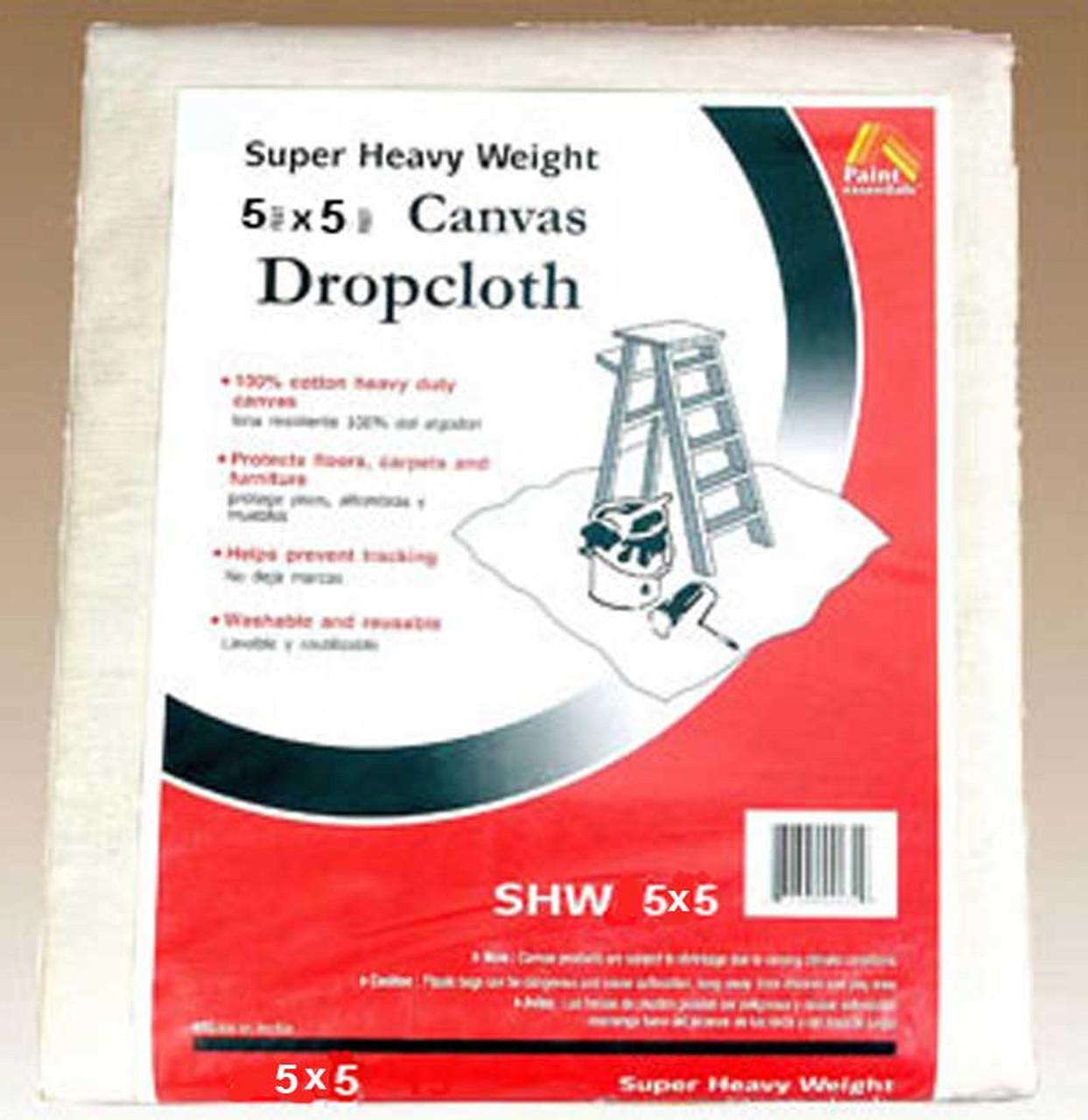 5x5 Canvas Drop Cloth