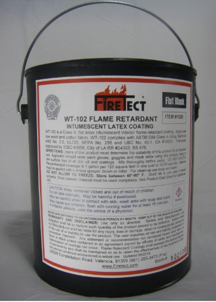 FIRETECT WT-102 Black Coating