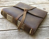 "Rustico ""Travelers"" Leather Journal Brown 6.5"" x 7.5"""