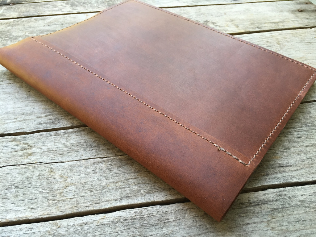 refillable leather notebook