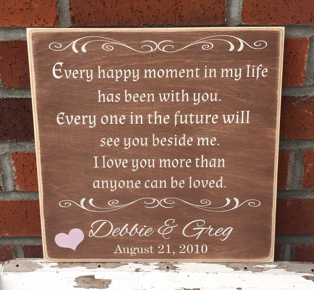 Anniversary Custom Sign