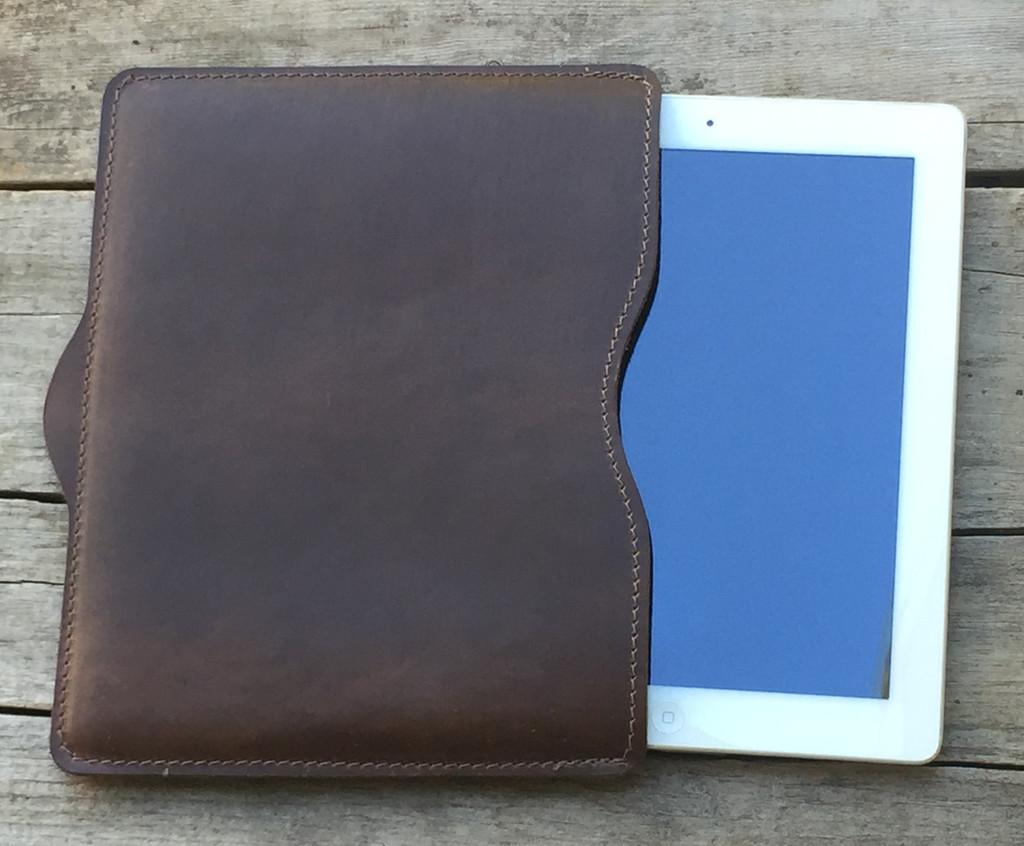 iPad Sleeve for iPad and iPad Air - Dark Brown