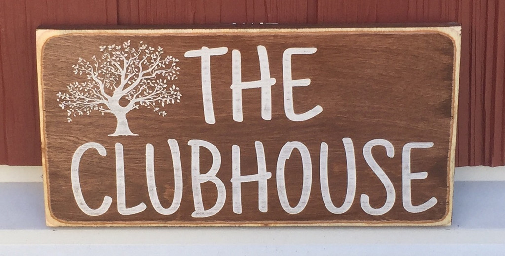The ClubHouse sign