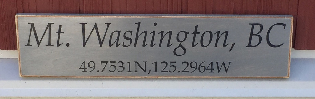 custom location sign