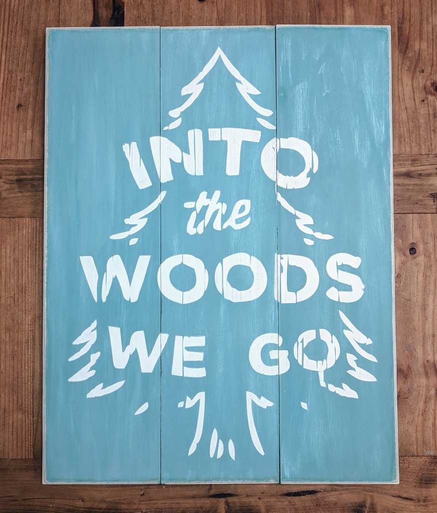 Into The Woods We Go