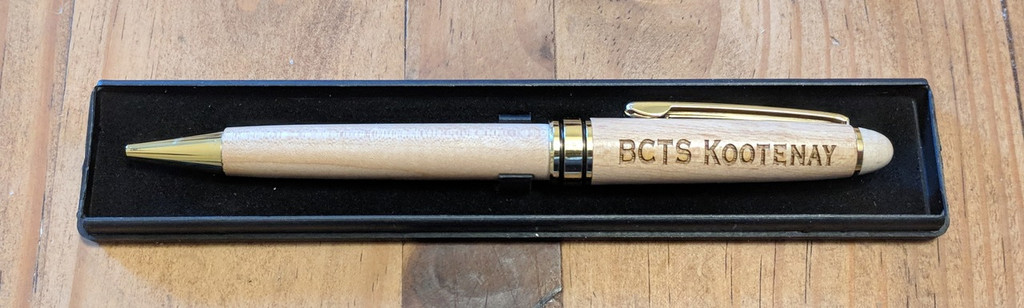 personalized maple pen