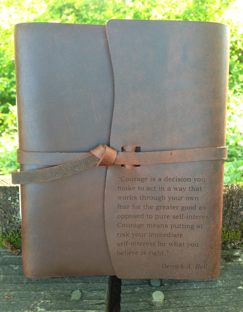 Personalized Leather Journa