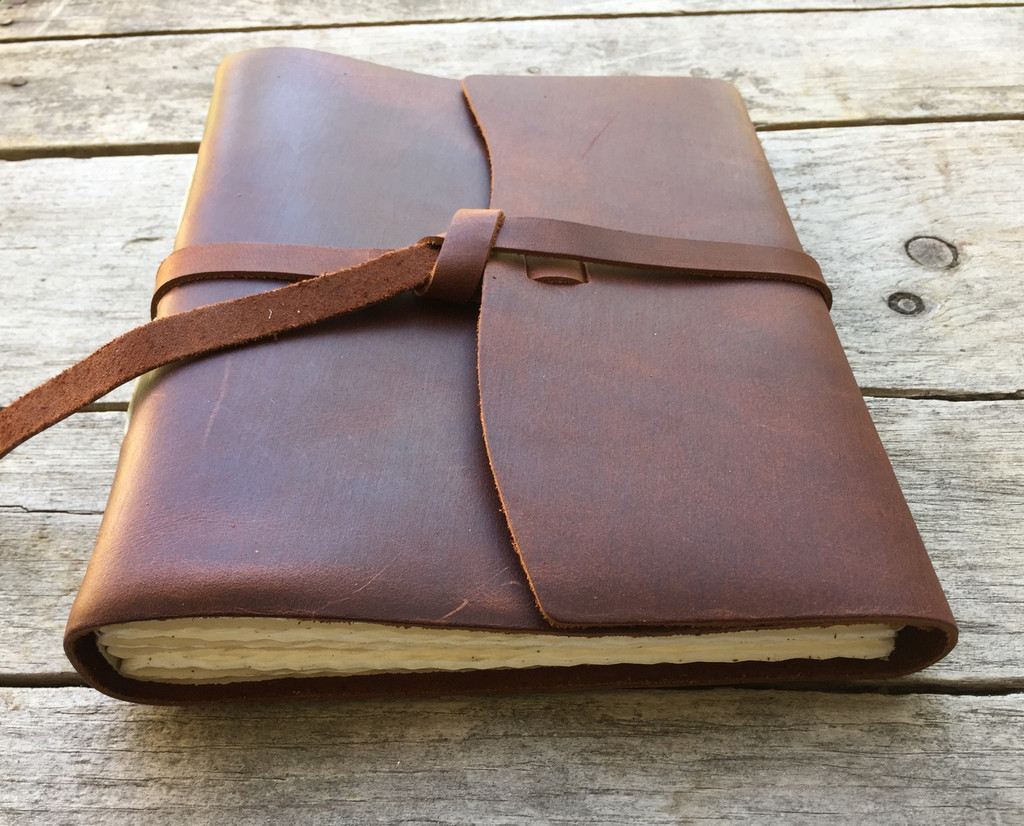 Leather Journal - Travelers