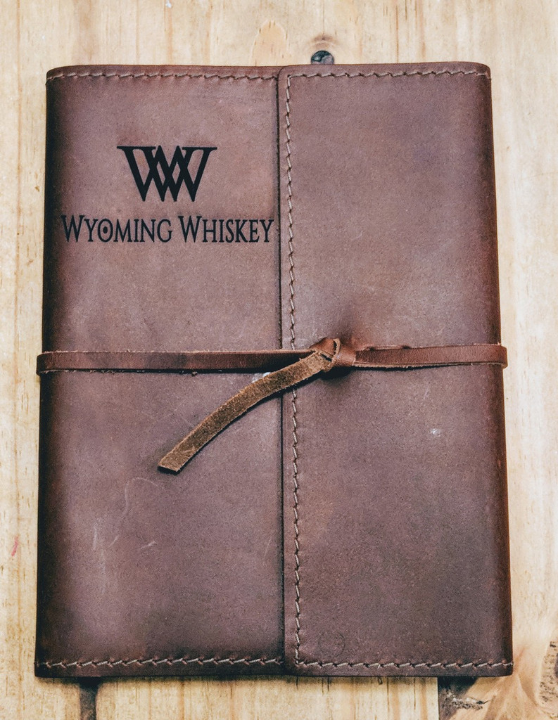 Journal with logo engraved