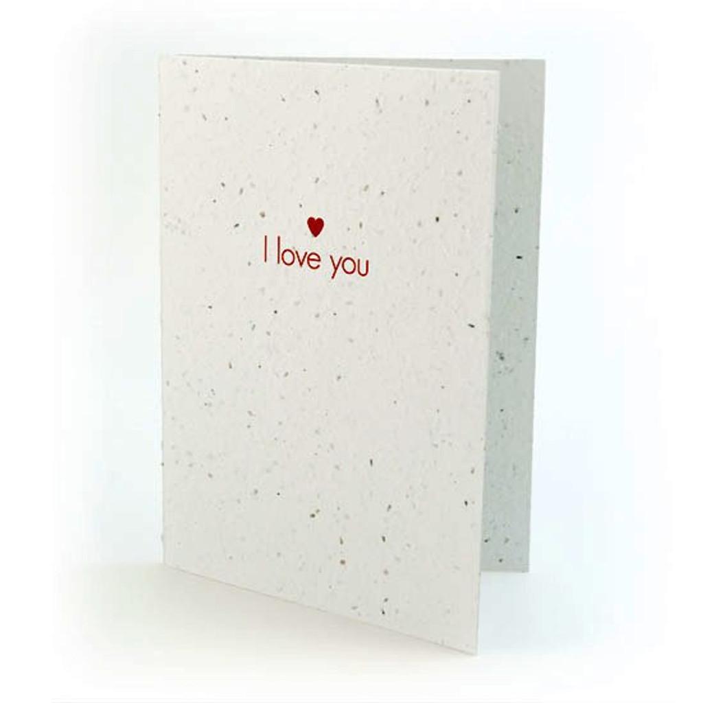 seed card - i love you