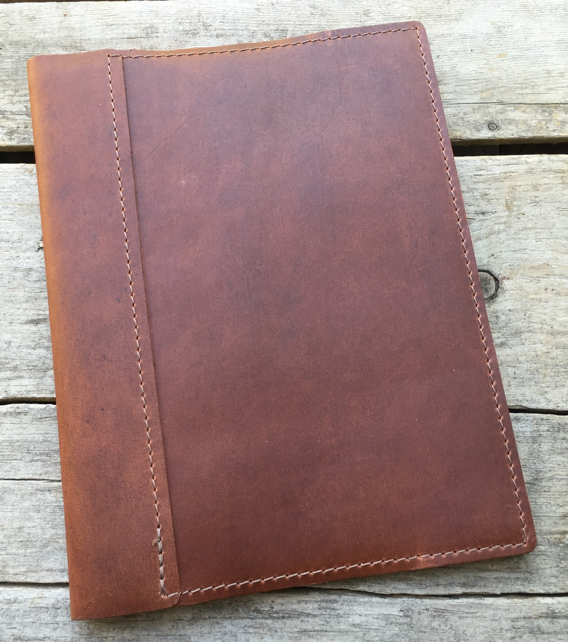 rustico composition refillable leather journal