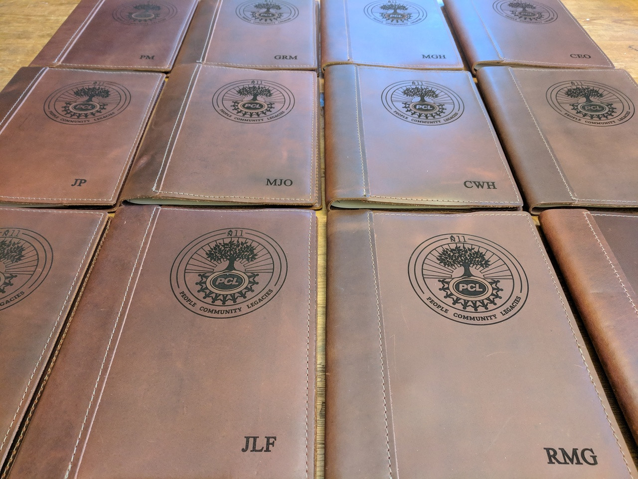 Engraved Journals with Logo