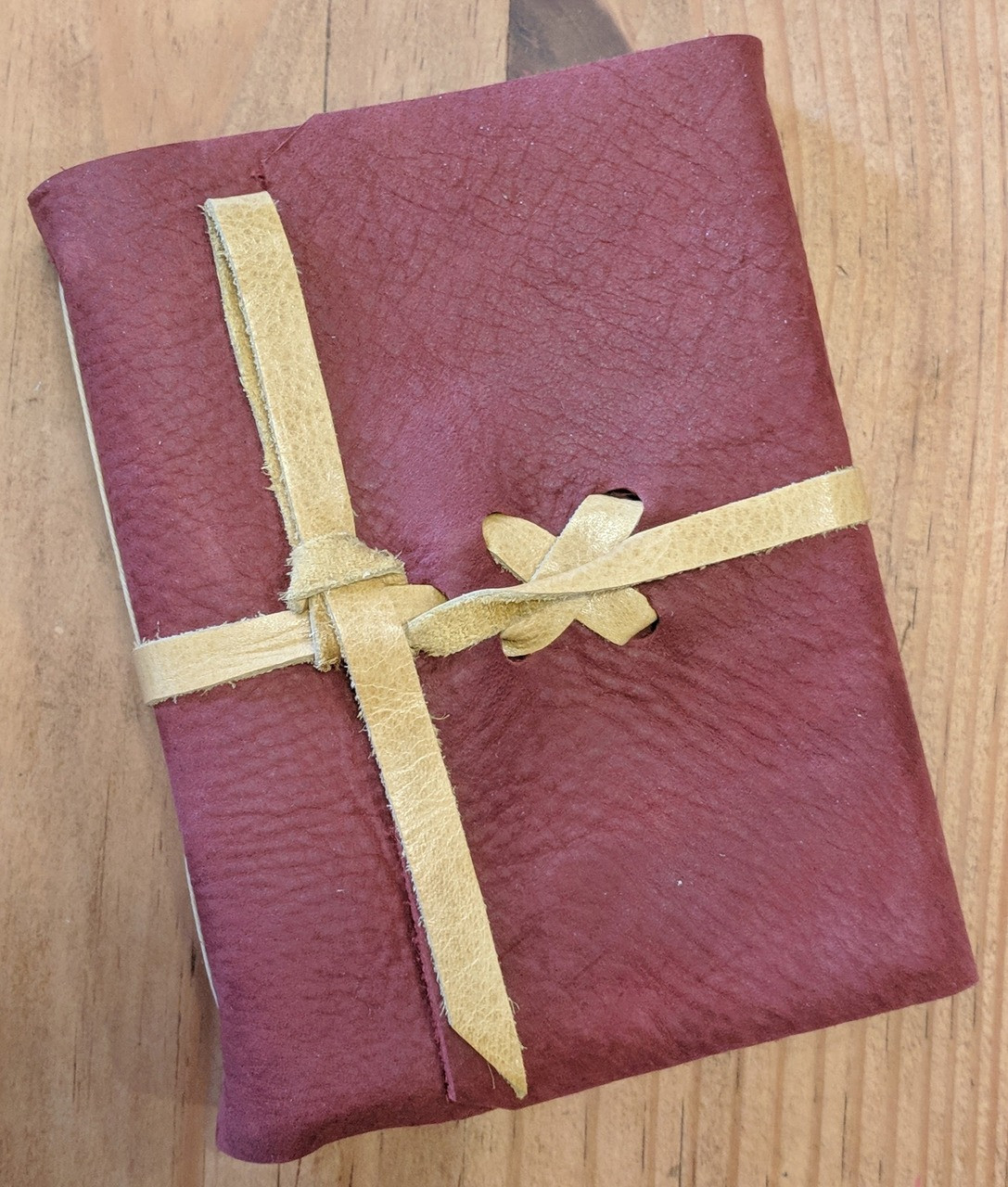 spellbinding journals - small red