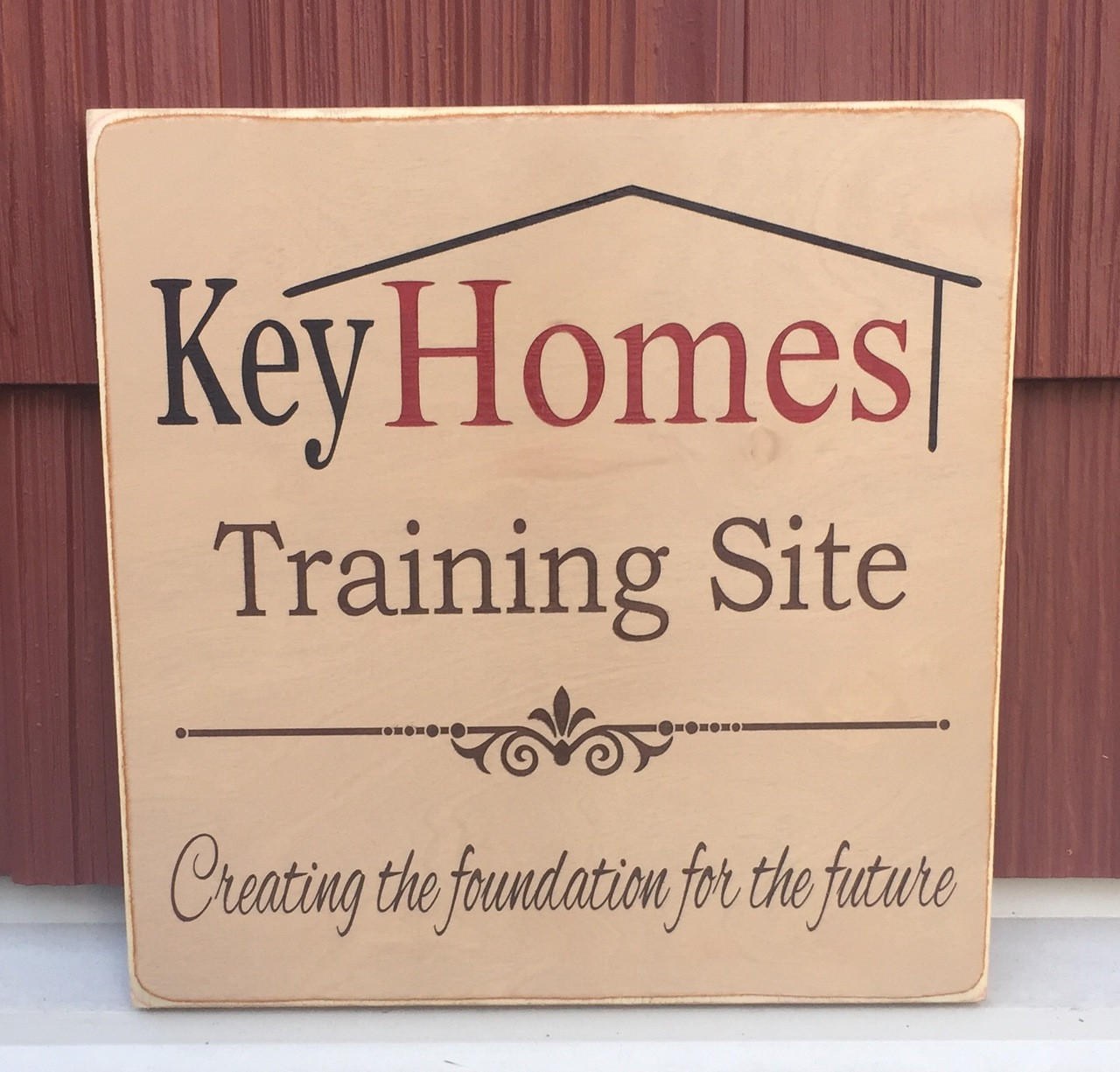 Key Homes - sign for business