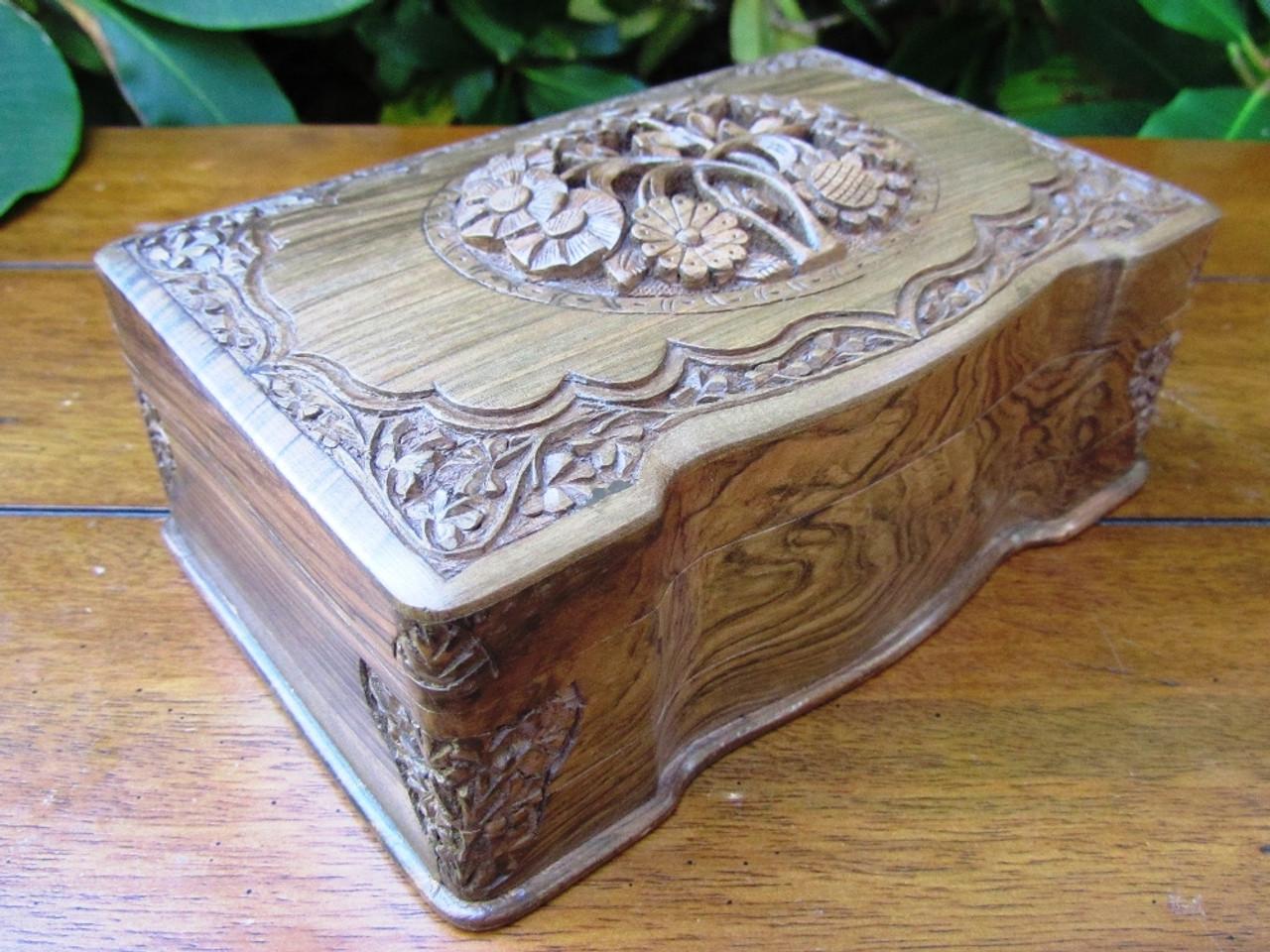 Handcrafted Jewelry Box - Unique Gift Idea