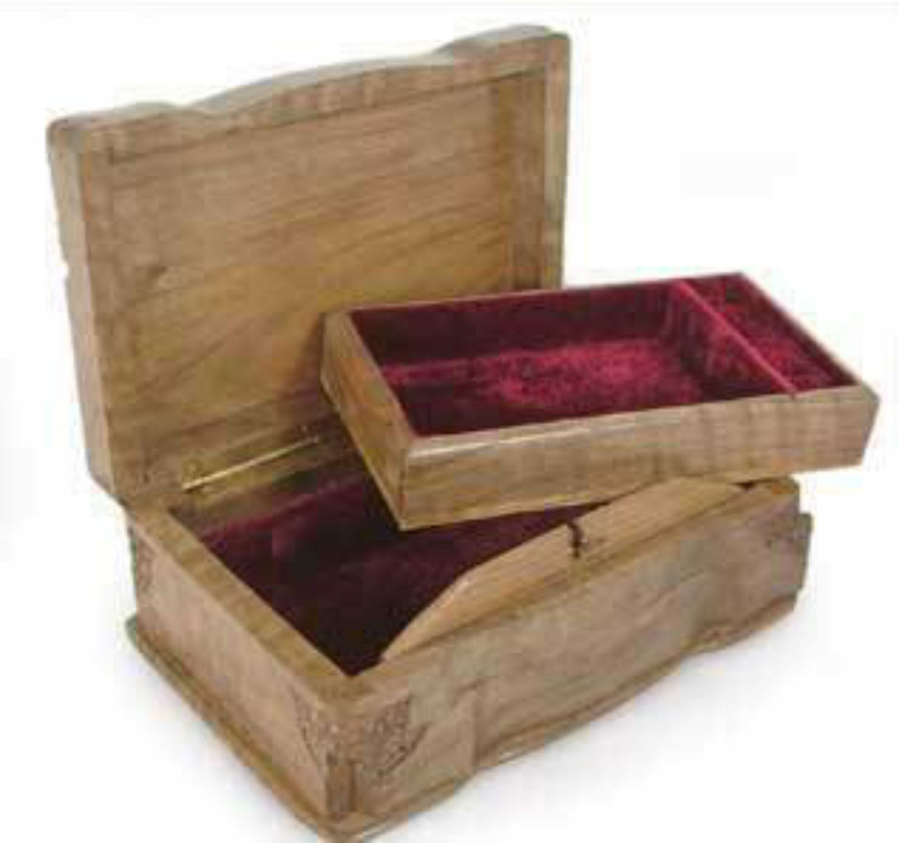 """""""Love's Bouquet"""" Handcrafted Jewelry Box"""