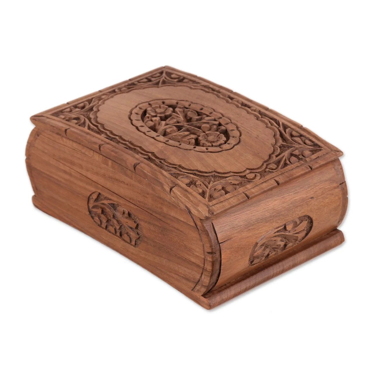 "Unique Gift Idea - Handcrafted Jewellery Box ""Love's Embrace"""
