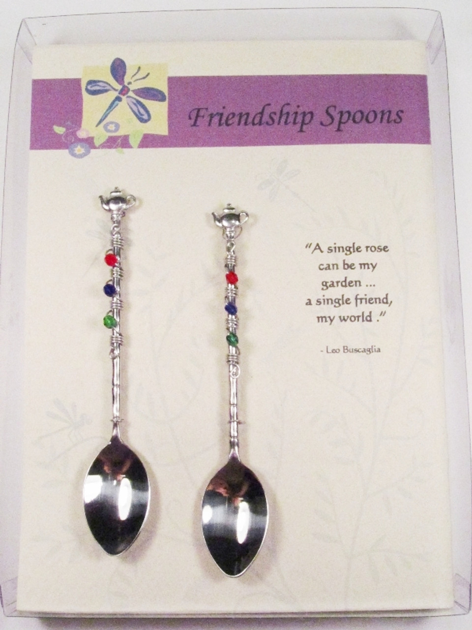 Beaded Friendship Spoon Box Set