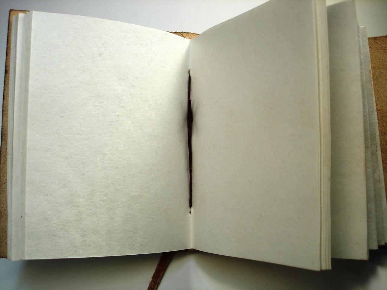 cotton paper inside journal