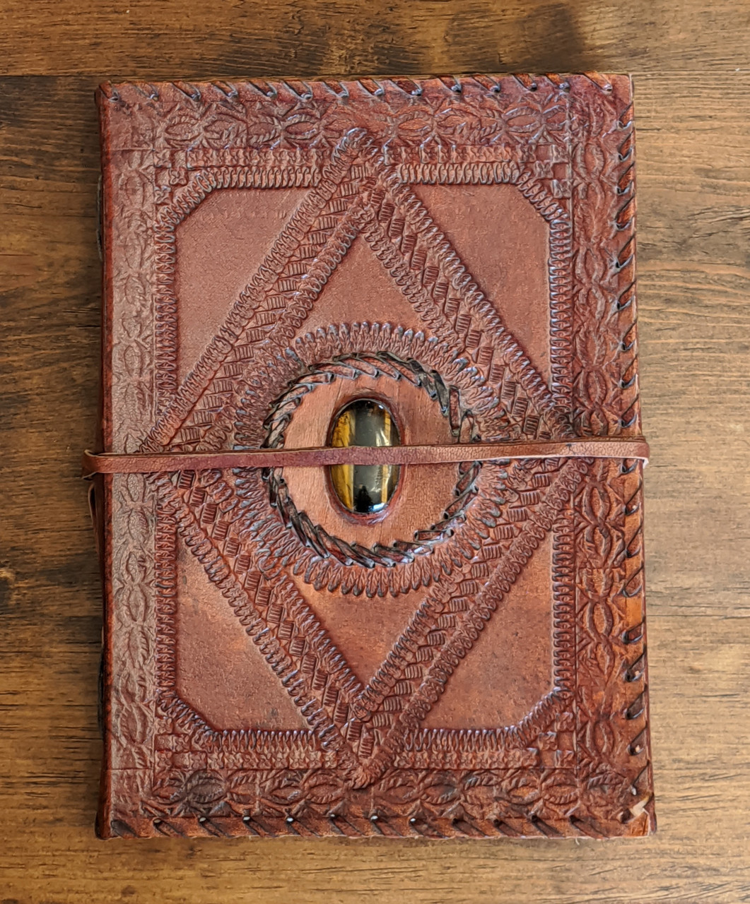 OLD WORLD Leather Journal - Embossed