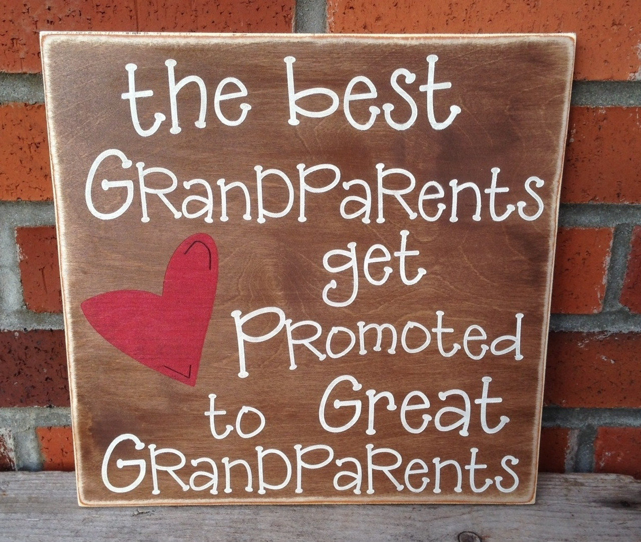 The best grandparents get promoted to great grandparents