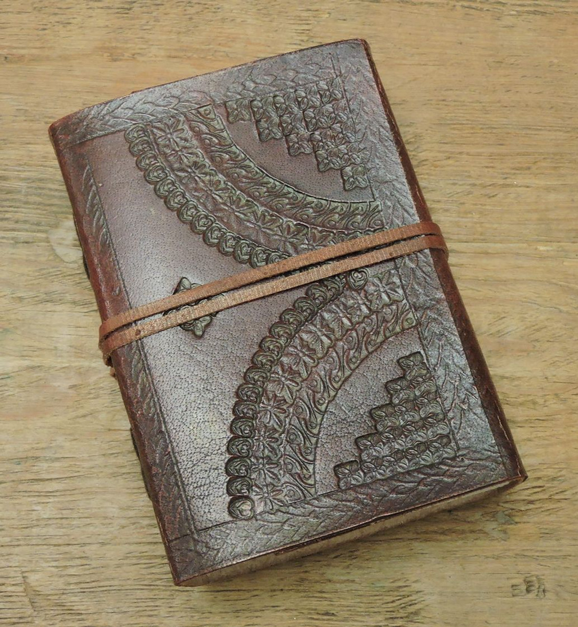 xtra small hand made leather journal