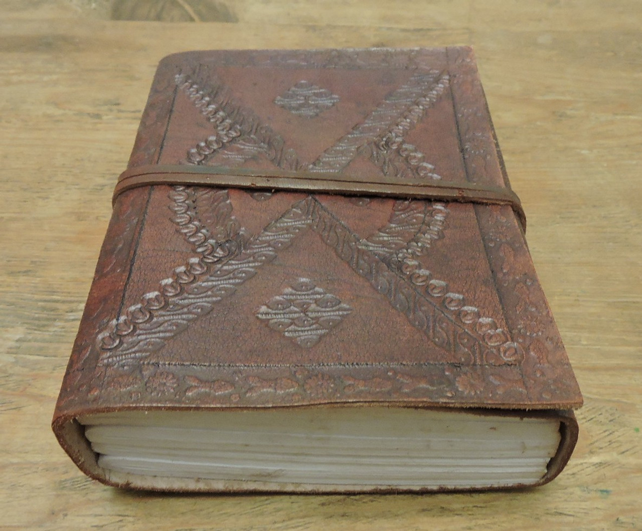 Old World Journal - tooled - embossed