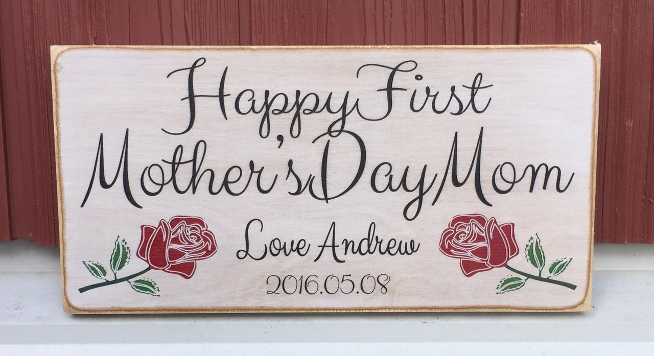 Personalized Mother's Day Sign