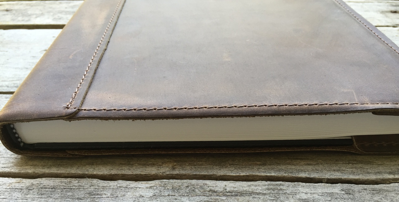 Leather Sketch Book Cover