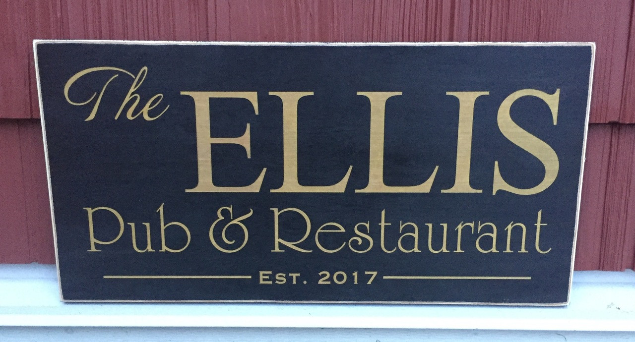 custom restaurant sign