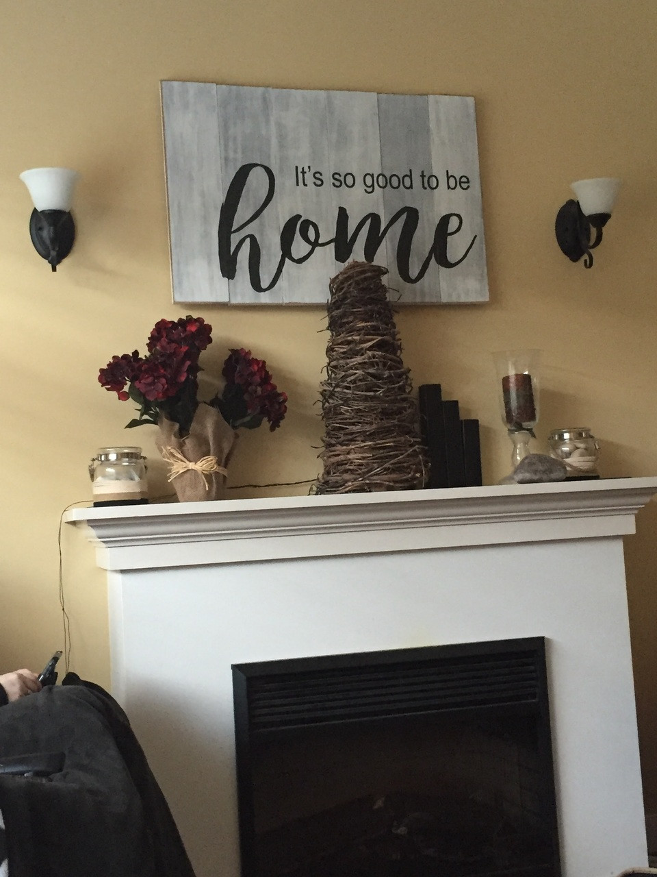 It's so good to be home wood sign