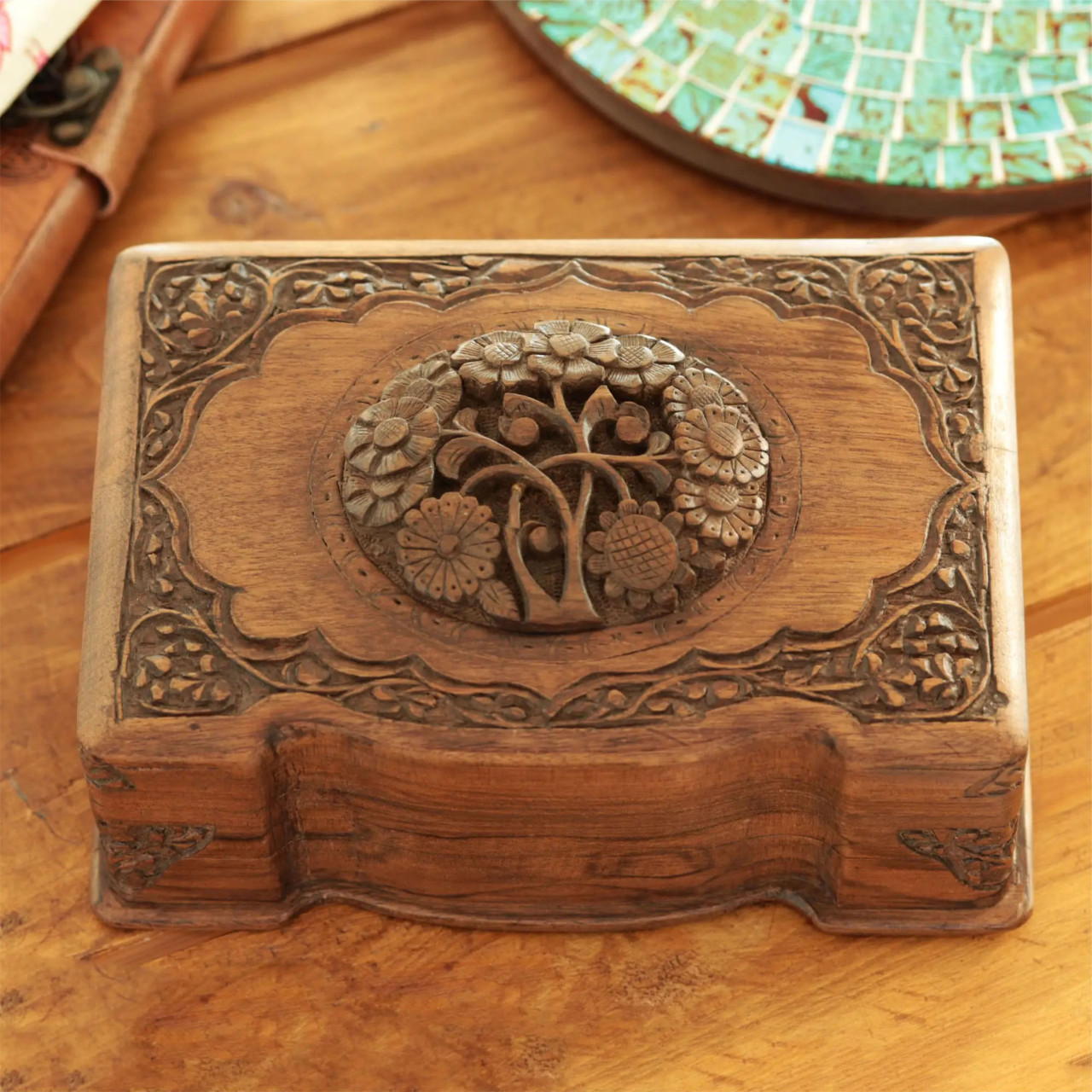"Handmade Jewellery Box ""Cherished"""