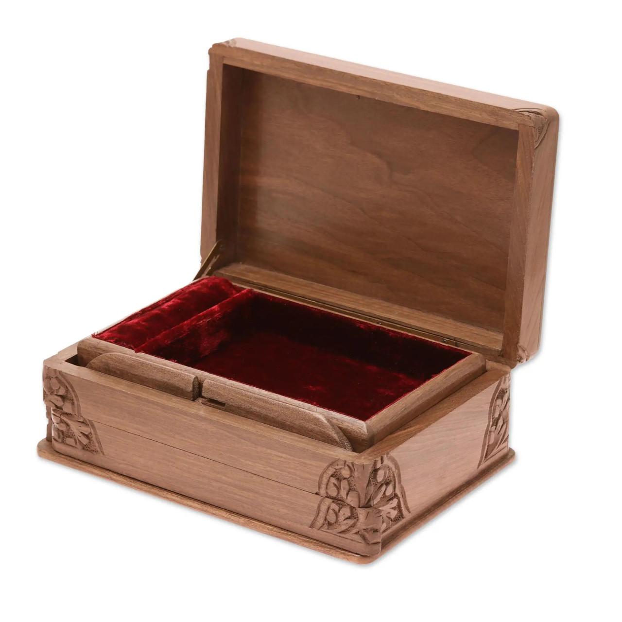 "Handmade Jewellery Box ""Cherished"" - Top"