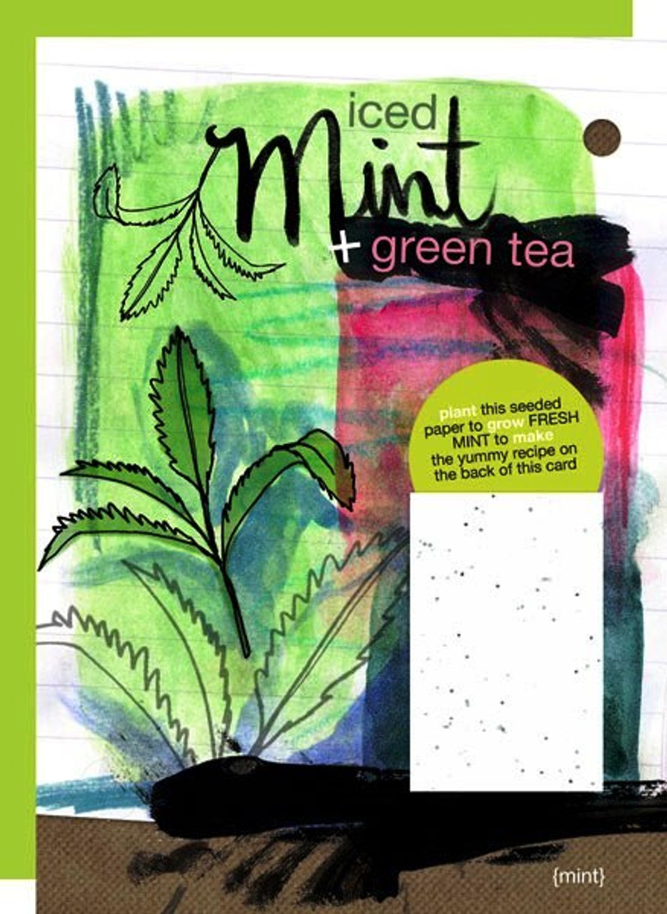 Mint Yummy Card