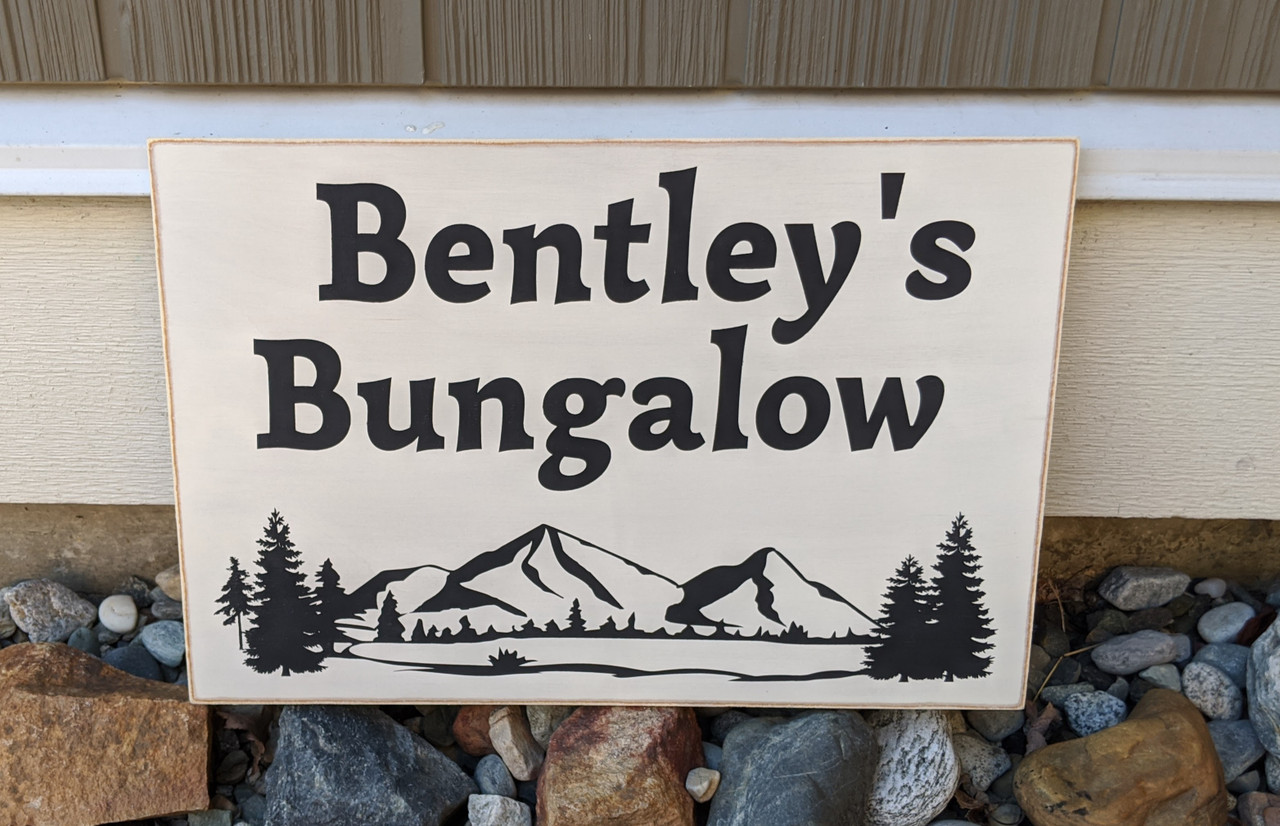 """Exterior Outdoor Custom Wood Sign - Make Your Own - 12"""" x 18"""""""