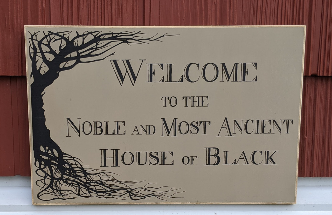 Outdoor Welcome Sign
