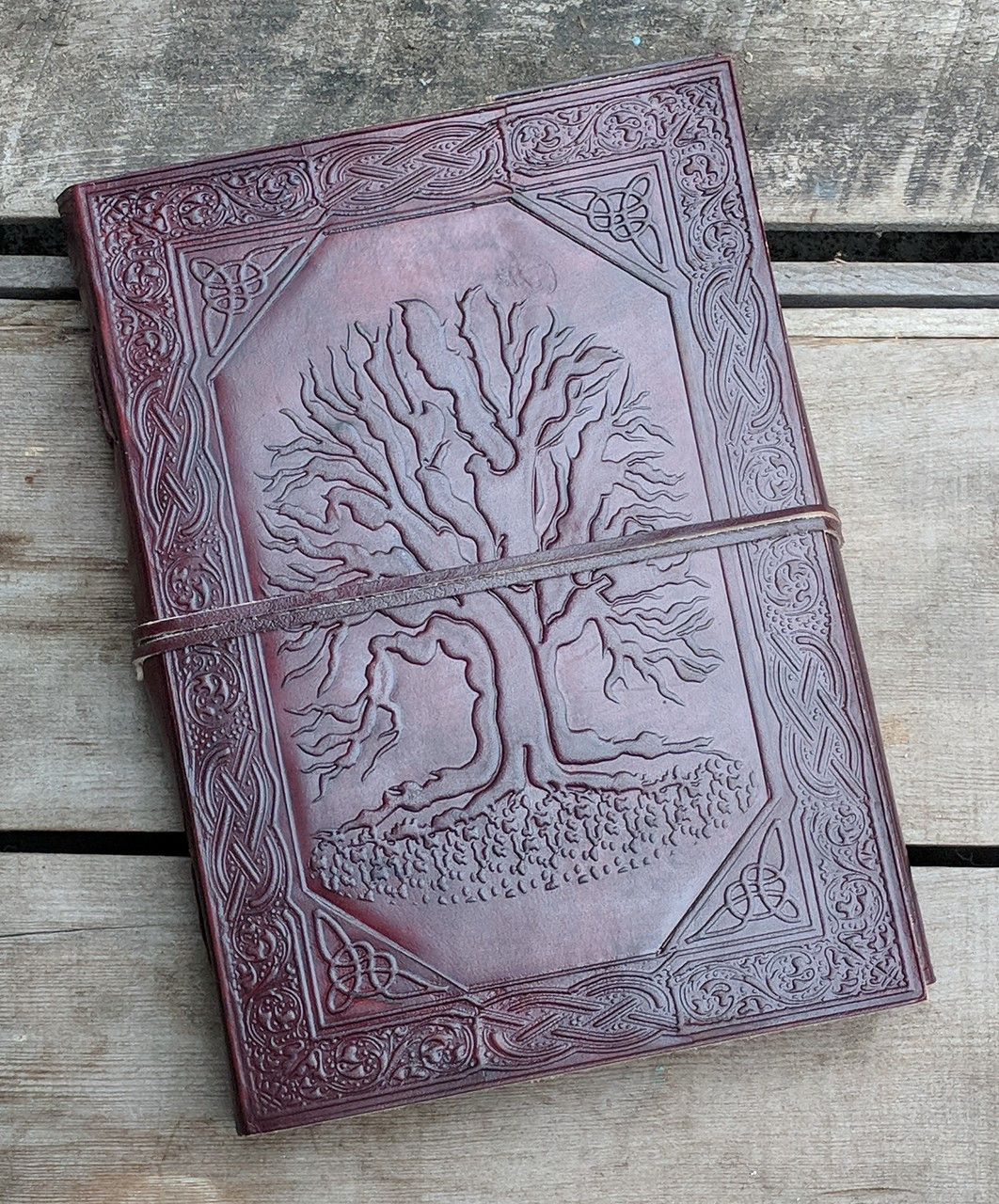 CelticTree of Life Leather Journal