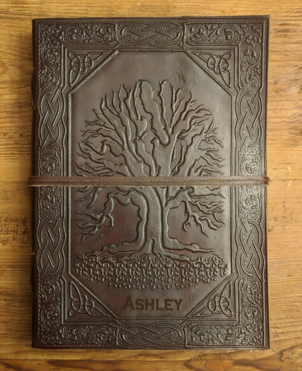 Laser Engraved Tree of Life Journal