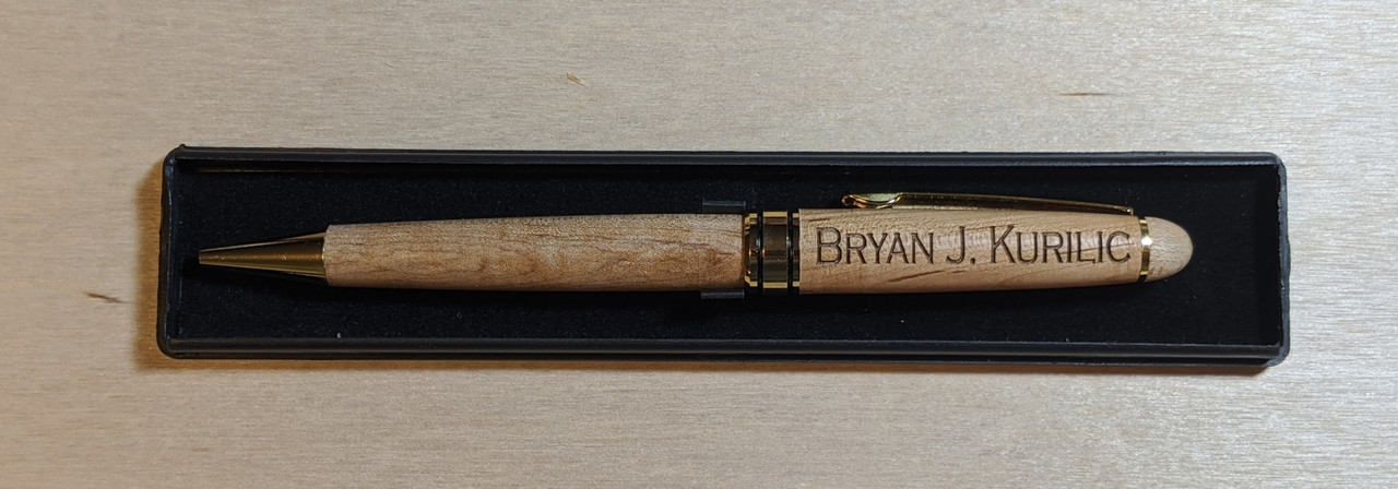 Maple Pen - Personalized