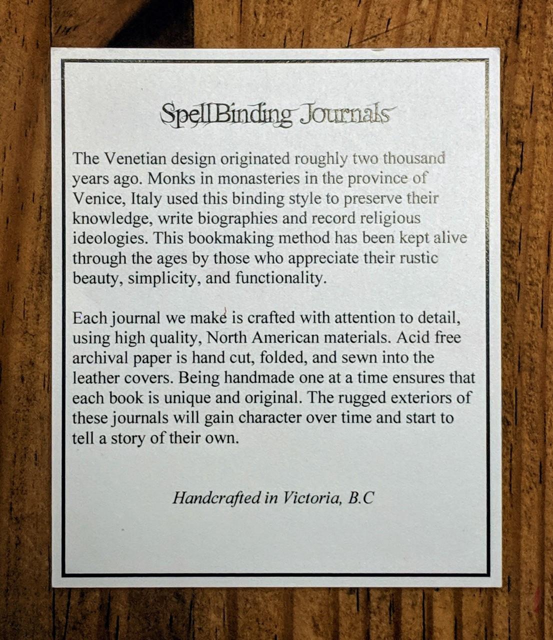Spellbinding venetian journals