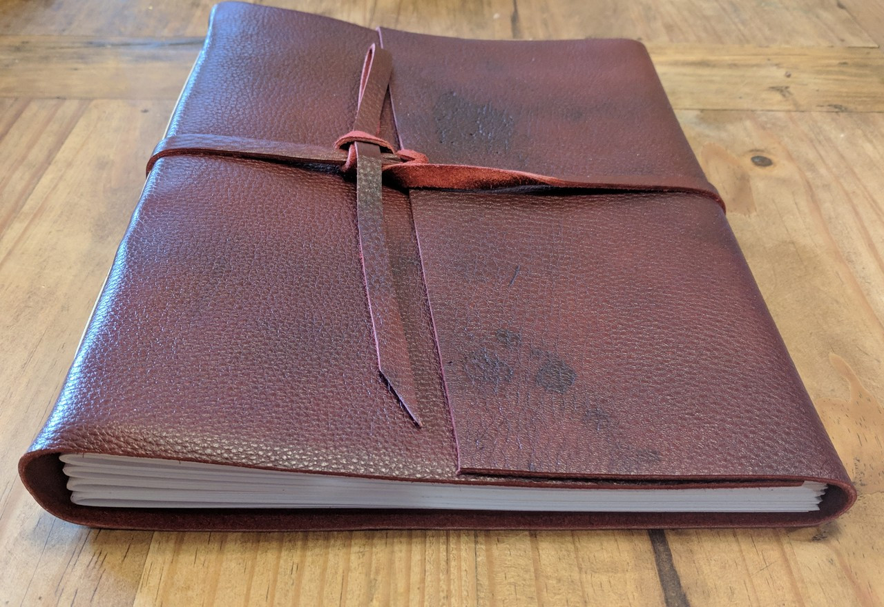 "Spellbinding Journals - Venetian Style Leather Journal - Large - 8.75"" x 11.5"""