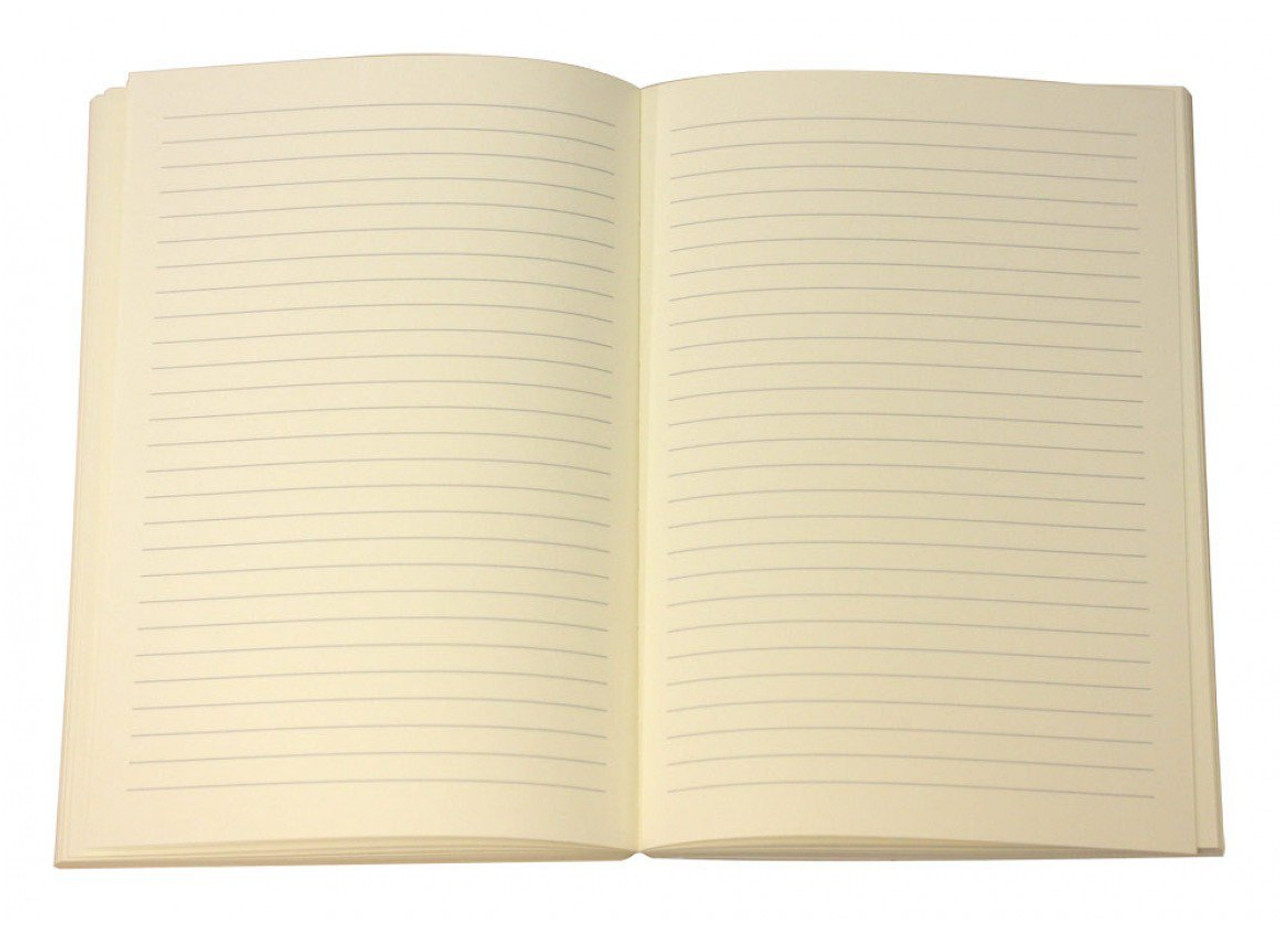 lined paper for writers log rustico leather notebook journal