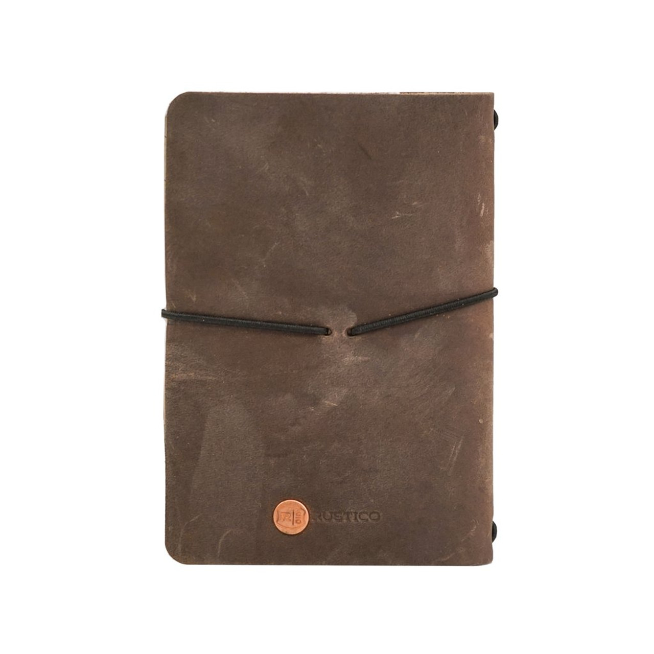 Leather Golf Log - Refillable - Back