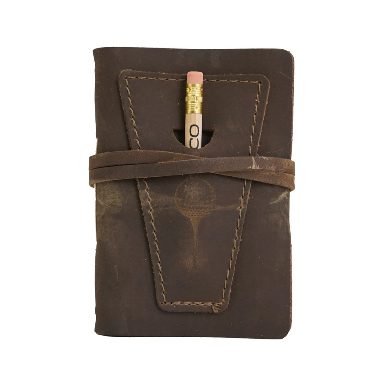 Rustico Leather Golf Log Book