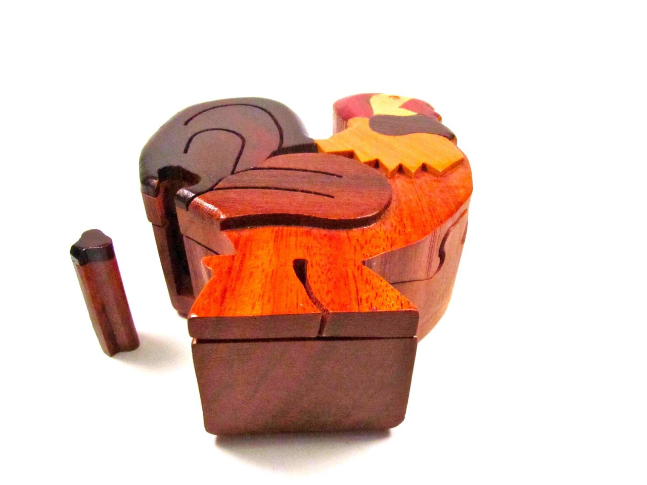 rooster puzzle box