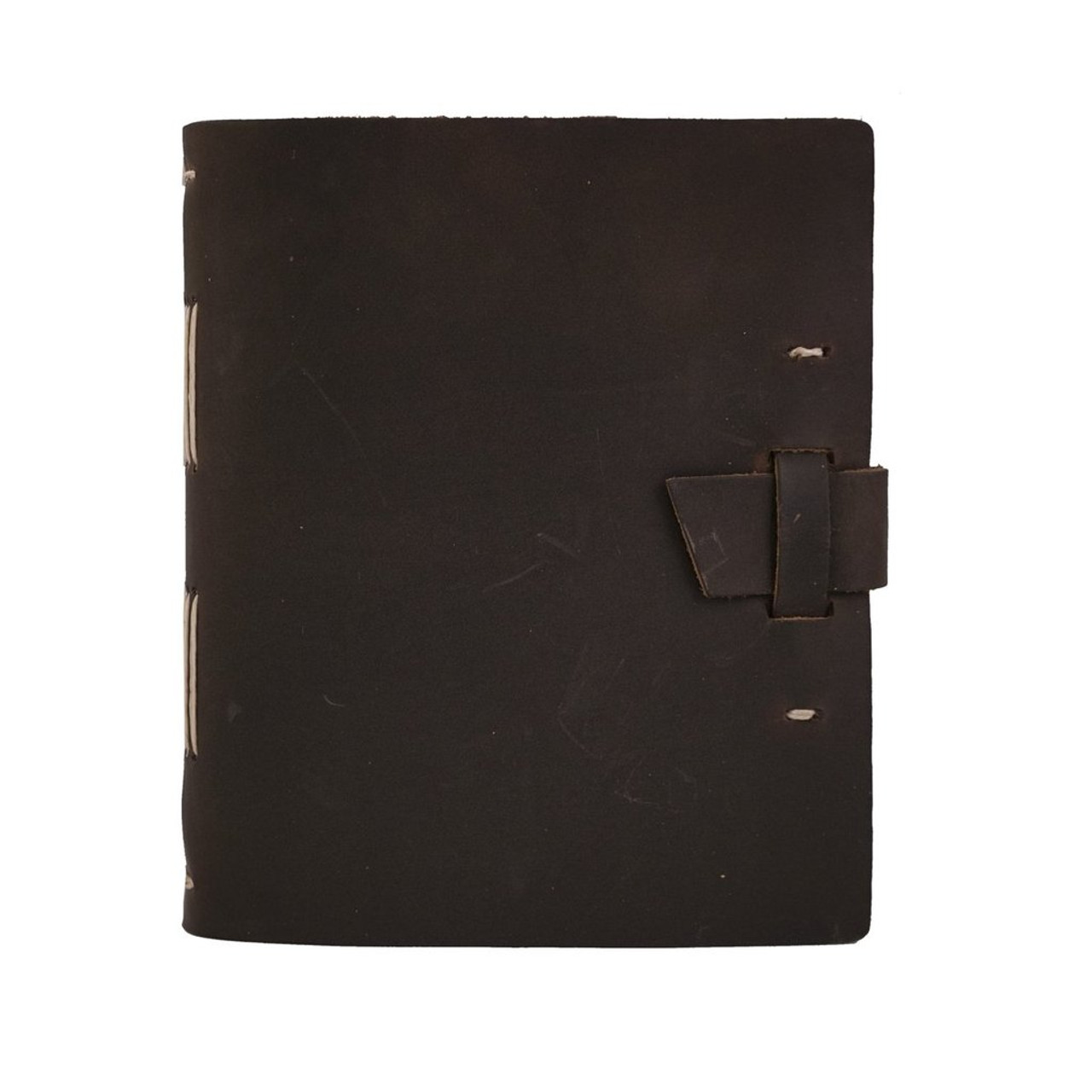 Rustico travelers journal with buckle