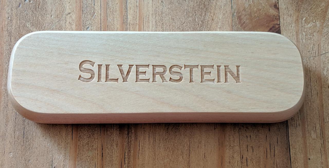 Personalized Wood Pen & Pencil Case
