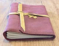 spellbinding journals - small red